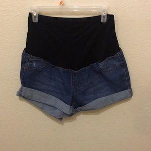 Pants - Maternity shorts / full panel / Xl